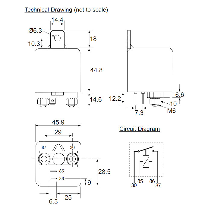 Heavy duty relay diagram wiring diagrams schematics 0 727 08 durite 24v 100a hd relay make break heavy duty relay heavy duty relay diagram 2 heavy duty relay diagram cheapraybanclubmaster Image collections